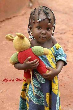 Criança Africana.