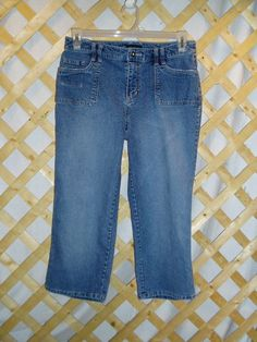 Clam Digger Jeans - Women's Size 10