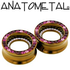 - Double Orbit Eyelets - ANATOMETAL - Professional Grade Body Piercing Jewelry
