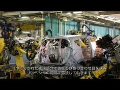 Nissan car manufacturing process  - YouTube