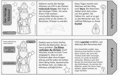 Leporello zum Leben des hl Nikolaus