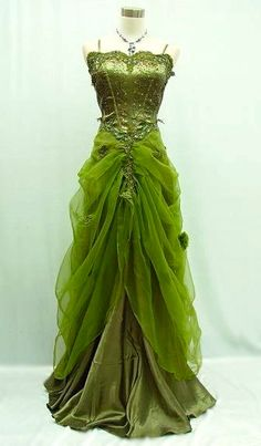 Absinthe Couture ~ green faery
