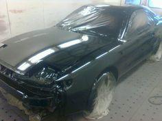 Toyota Celica, paint job