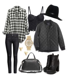 A fashion look from July 2015 featuring plaid shirts, cropped shirts and flight jackets. Browse and shop related looks. Crop Shirt, Grunge, Victoria, Plaid, Fashion Looks, Clothing, Polyvore, Jackets, Shirts
