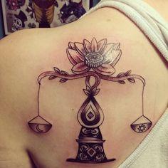 75 Extraordinary Libra Tattoo - Designs & Meaning Libra Tattoo, Libra Scale Tattoo, Libra Zodiac Tattoos, Libra Constellation Tattoo, Tattoo Designs And Meanings, Tattoo Designs For Women, Michael Johnson, Tattoo Ideas, Lace Tattoo