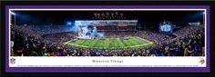 Minnesota Vikings Panoramic Picture - TCF Bank Stadium Panorama - Select Frame $149.95