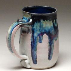 Pint Mug – Mangum Pottery Slab Pottery, Pottery Mugs, Ceramic Pottery, Ceramic Bowls, Ceramic Art, Stoneware, Pottery Designs, Pottery Ideas, Sculpture Clay