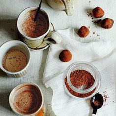 Hot Chocolate and Truffles - gift