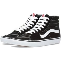 Vans California Sk8-Hi ($81) ❤ liked on Polyvore featuring men's fashion, men's shoes and men's sneakers