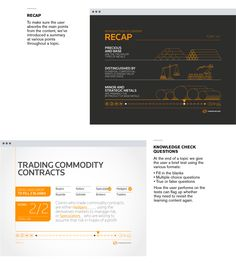 Thomson Reuters - Frontline Learning on Behance
