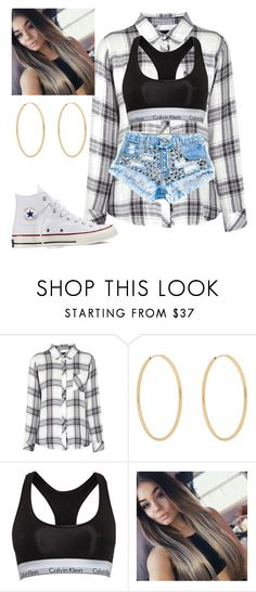 """""""No. 97"""" by jaed625 ❤ liked on Polyvore featuring Rails, Loren Stewart, Calvin Klein, Runwaydreamz and Converse"""