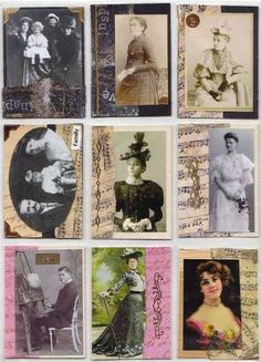 ATC Cards | Artist Trading Cards – An Introduction To Exploring ART In Miniature