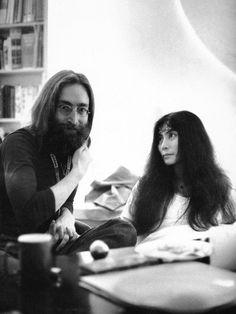♥♥John W. O. Lennon♥♥  ♥♥Yoko Ono-Lennon♥♥  Photo by- Linda Eastman-McCartney