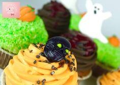 Halloween CupCakes Halloween Cupcakes, Cup Cakes, Desserts, Food, Pastry Chef, Tailgate Desserts, Deserts, Cupcakes, Essen