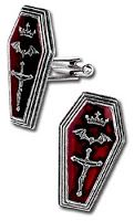 Coffin Cuff-links for that #Goth guy in your life.