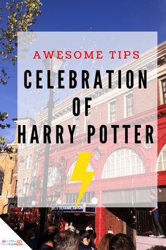 tips for universal studios celebration of harry potter