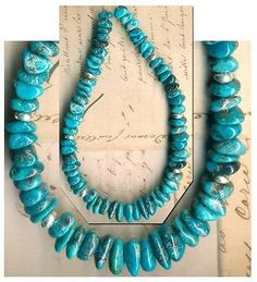 Mexican-NACOZARI-TURQUOISE-Beads-Blue-Natural-Color-Genuine-6-9mm-8-5-Str