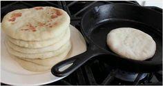 Saiba como fazer um delicioso pão caseiro de frigideira! | Cura pela Natureza