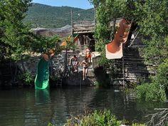 """Corsica / Camping La Riviere & strandtent """"I Pini"""" - Toffecamping"""