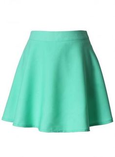 Mint Skater Skirt,  Skirt, skater skirt  high waist, Casual