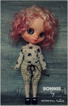 OOAK Custom Middie Blythe Doll by Carmen Rubio | eBay
