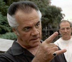 Paulie Walnuts. The weird one in the crew but he had a tender heart. He was very old school in how he believed. He drove me nuts sometimes but he made me laugh a lot too.