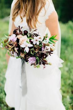 Romantic Mountainside Bridal Session   Kentucky Wedding Florist