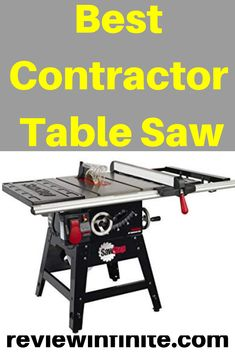 Best Table Saw, Table Saw Stand, Table Saw Reviews, Contractor Table Saw, Carpentry Tools, Metal Shop, Circular Saw, Wood Cutting, Power Tools