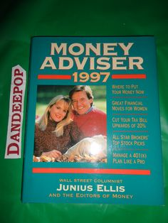Money Adviser Book By Time Inc Home Entertainment First Printing 1997 find me at www.dandeepop.com