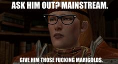 ROFL. Oh Aveline, you are so awkward indeed ♥-- Hipster Aveline