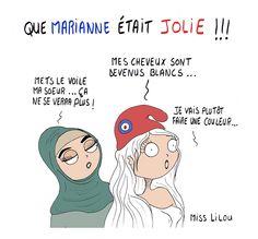 QUE MARIANNE ÉTAIT JOLIE !!! - Miss Lilou - 12 gennaio §