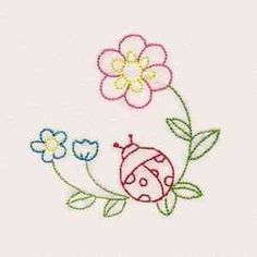 Vintage Embroidery Designs Buy Individual Embroidery Designs from the set Fantastic Garden Colorlines - Embroidery Transfers, Hand Embroidery Patterns, Vintage Embroidery, Embroidery Applique, Cross Stitch Embroidery, Machine Embroidery Designs, Embroidery Thread, Kurti Embroidery, Mexican Embroidery