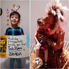 Carlos Rivera, feliz y sonriente cumple el sueño de una pequeña fan