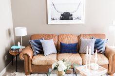 The Brunette One + Havenly Living Room Makeover