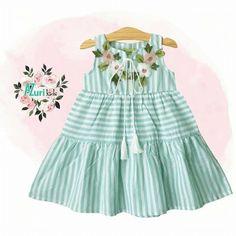 Tartine et Chocolat - Sienna pink poplin dress - 34615 Frocks For Girls, Little Dresses, Little Girl Dresses, Cute Dresses, Girls Dresses, Toddler Dress, Toddler Outfits, Kids Outfits, Baby Girl Dress Design