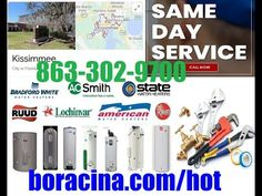 Top Emergency Hot Water Heater Repair In Kissimmee FL Same Day Installat... Mobile Mechanic, Lakeland Florida, Car Repair Service, Real Estate Services, The Help, Day, Water, Davenport Florida, Facebook