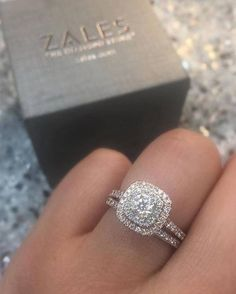 Top 24 Engagement Rings from Zales | Hi Miss Puff