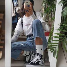 — ✧ •° lemcnsoda Aesthetic Outfit, Aesthetic Style, Aesthetic Shoes, Aesthetic Fashion, Aesthetic Clothes, 90s Clothes, Grunge Clothes, Cheap Clothes, 90s Fashion Grunge