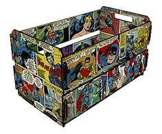 Caixote Organizador Mini DC Comics - 35X19,5cm