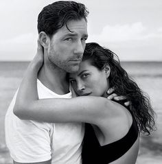 Christy Turlington and Ed Burns by Inez and Vinoodh for Eternity Calvin Klein