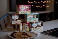 New Dairy Free Cookies Lucys Fall Flavors
