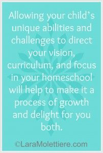 Letting your child with special needs lead your homeschool. Homeschooling a child with special needs home educating family.