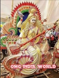 Saraswati Murti, Jai Maa Saraswati, Durga Ji, Saraswati Goddess, Nitish Kumar, Ganesh, Princess Zelda, India, Beautiful