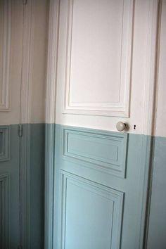 Image result for half painted door