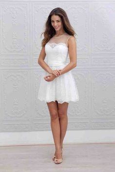 285837f2b6ee Elegant Short Wedding Dresses - Wedding and Bridal Inspiration