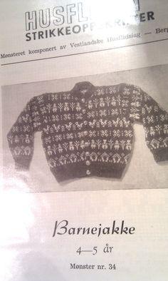 Husfliden 34 Norwegian Knitting, Beret, Children, Baby, Young Children, Berets, Boys, Kids, Baby Humor