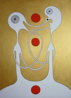 (c) Petra Kučerová, akryl na plátně, 50 x 70 cm