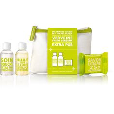 Compagnie de Provence Extra Pur My Travel Pouch - Verveine featuring polyvore, beauty products, bath & body products and body cleansers