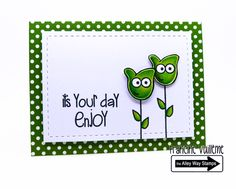 The Alley Way Stamps-Oogles stamp set