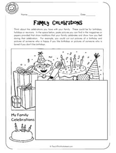 family worksheet NEW 127 MY FAMILY